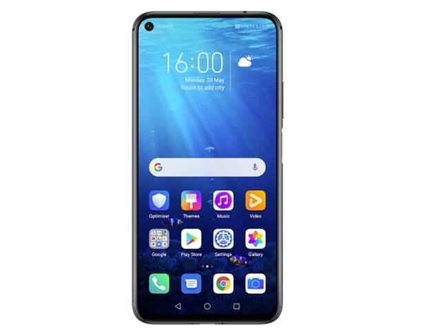 Смартфон Huawei Nova 5T Pro оснащён «дырявым» экраном и 8 Гбайт ОЗУ