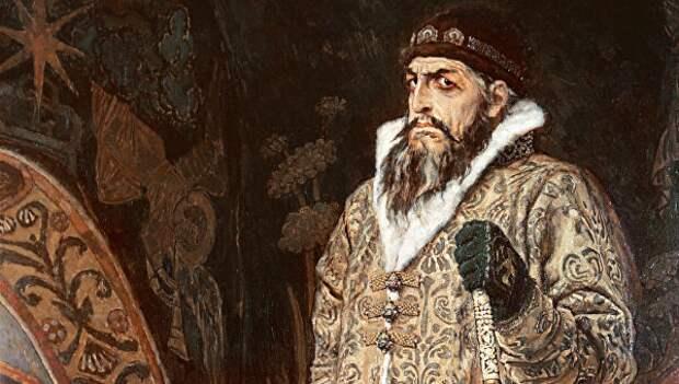 Иван IV Васильевич (фрагмент картины Васнецова)