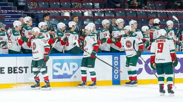 «Ак Барс» одержал 8-ю подряд домашнюю победу в КХЛ