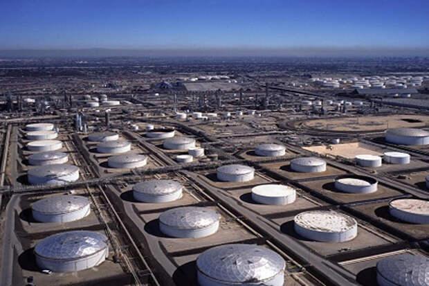нефтехранилище запасы нефти