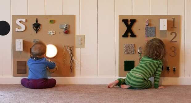 Папа придумал гениальный способ занять своего ребенка