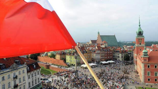 Вид на Варшаву. Архивное фото