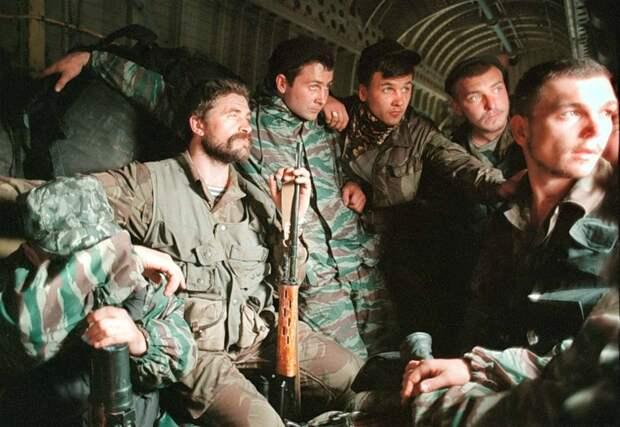 В этот день 11.12.1994 года началась Первая Чеченская война