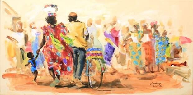 Яркие краски Африки. Niankoye Lama