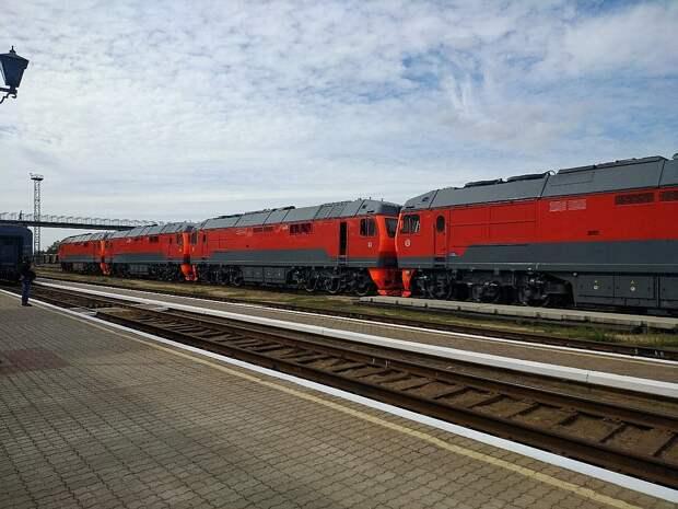 Только вперед: Крым получил новые локомотивы