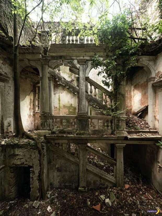 Невероятные заброшенные места