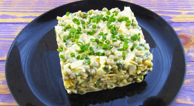 Салат Чайка. Нежный и сытный салат, который наши бабушки и мамы готовили еще с прошлого века 4