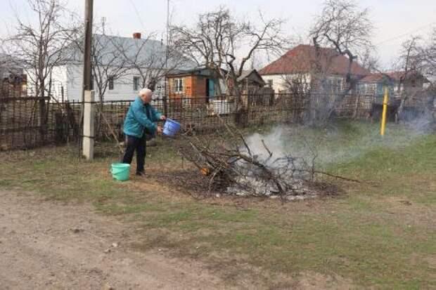 В Тамбовской области составлено 42 административных дела за разведение костров