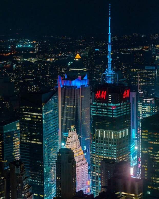 Красота и великолепие городов планеты на снимках Дэйва Кругмана