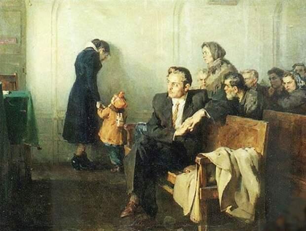А. П. Солодовников, «В советском суде», 1955 г.