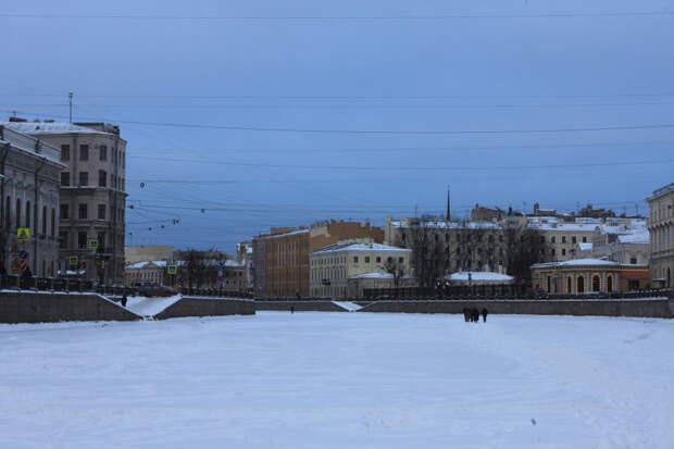 Зимняя прогулка по Фонтанке