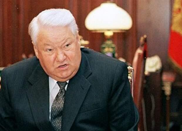 Ельцин принес огромное зло нашей стране