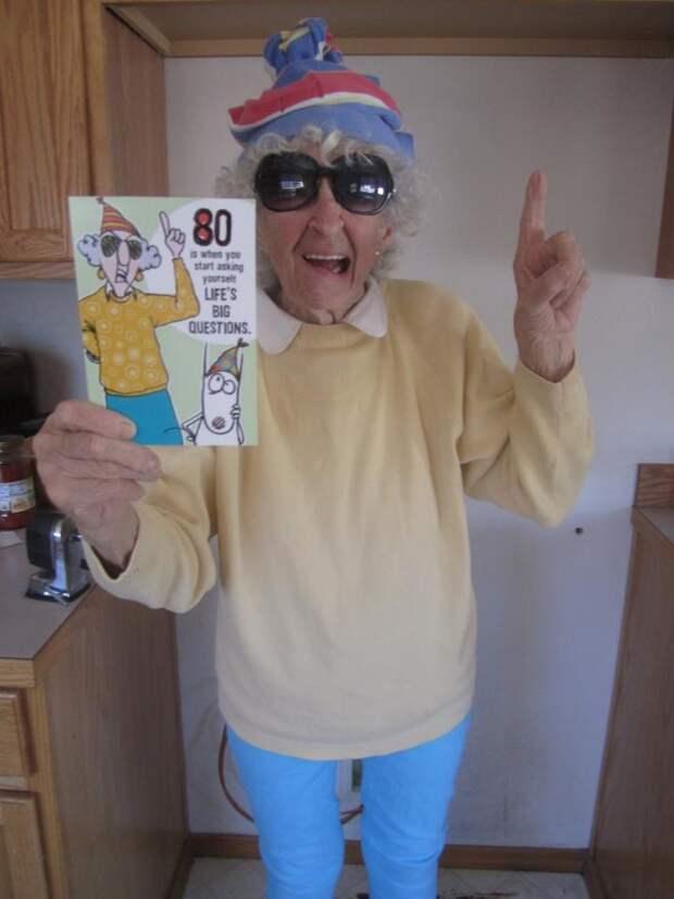 Бабушки с огоньком: У чувства юмора нет возраста