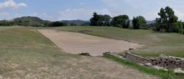 Стадион Олимпии, современный вид - Большие игры Древней Греции | Warspot.ru