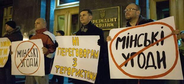 Украине грозят санкции за выход из переговоров в Минске
