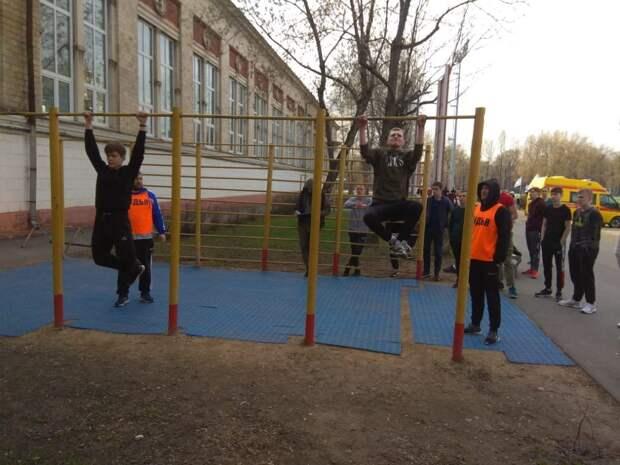 Команда допризывников из Печатников стала призером окружной спартакиады