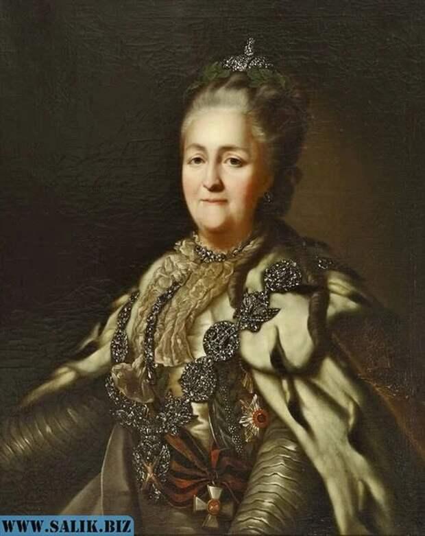 Портрет Екатерины II кисти неизвестного художника.