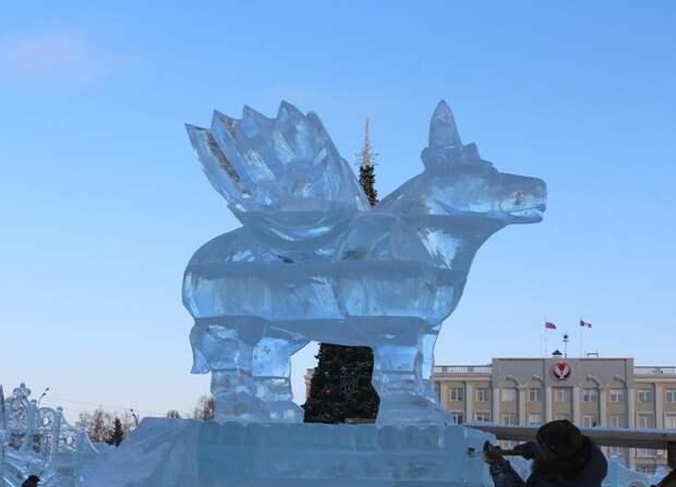В Ижевске поставят ледовую горку для детей с ограниченными возможностями