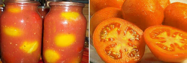 помидоры в собственном соку