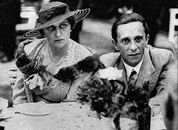 Как жена Геббелса влюбилась в русского еврея
