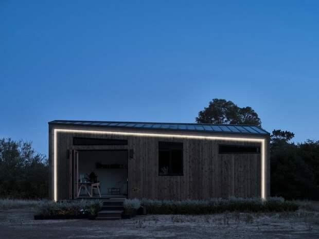 Модульный дом в Калифорнии