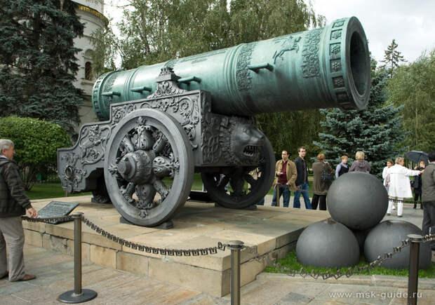 Царь-пушка, фото