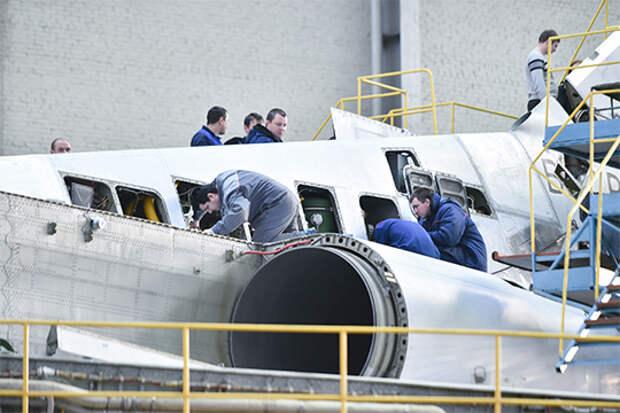Цикл строительства Ту-160 внынешних условиях— минимум два года