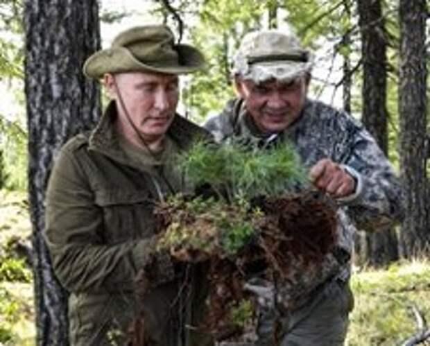 С разрешения Трампа Путин провел выходные в тувинской тайге