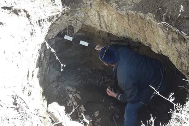 На берегу священной реки в Ингушетии найдены древние гробницы и катакомбы