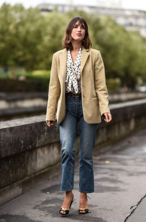 Как носить пиджак этой осенью: 8 примеров, когда он спасает образ