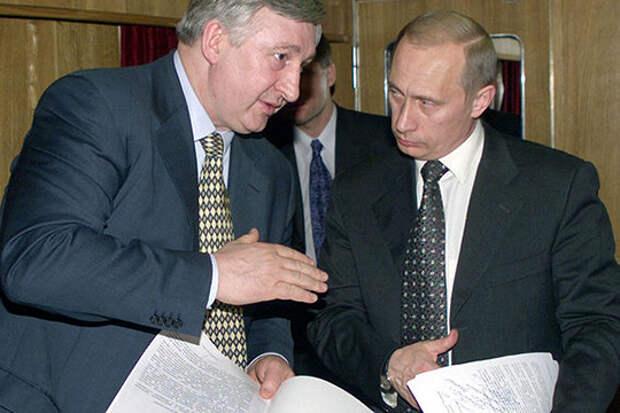 Николай Аксененко и Владимир Путин