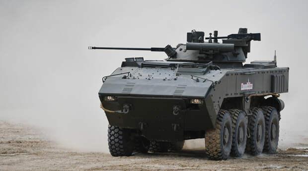 Россия впервые представит за рубежом боевые машины «Бумеранг»