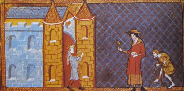 Бродяги и нищие в Средние века 11