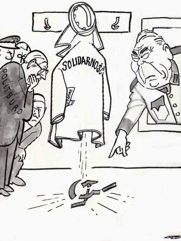 Брежнев и польская «Солидарность» (1981 год)