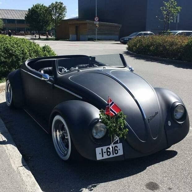 Из «Жука» вродстер: невероятное превращение Volkswagen Beetle 1961 года