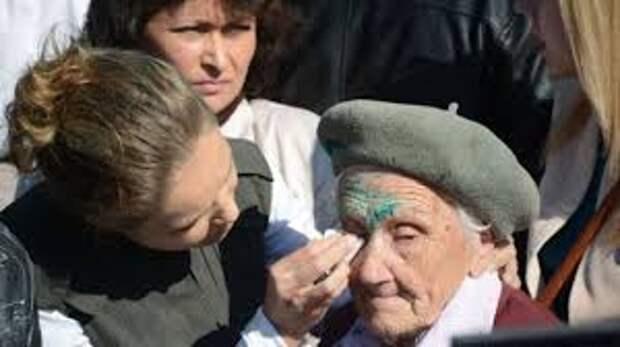 День Победы в украинском Славянске