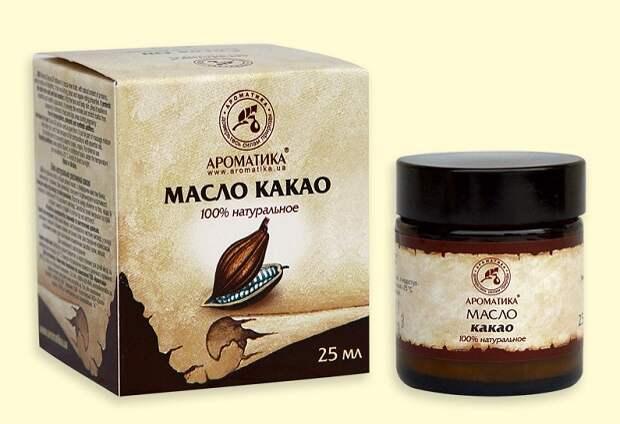 Рецепты масок с маслом какао