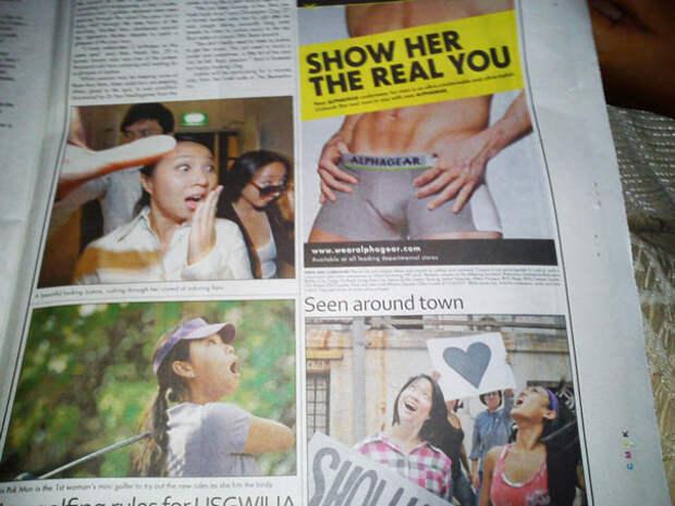 8 фото, которые наглядно показывают, что верстальщикам нужно следить за сочетанием заголовков и фото в газетах