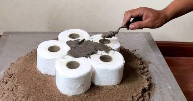 Превратите туалетную бумагу в необычную и нужную вещь для дома