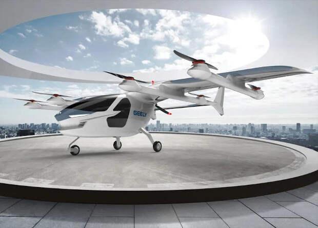Terrafugia представила полноразмерный прототип электрического аэротакси