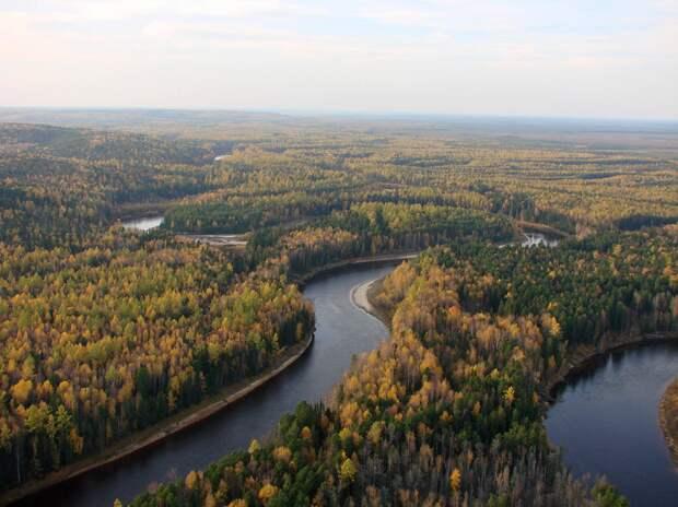 Река Назым. Источник: https://waterresources.ru