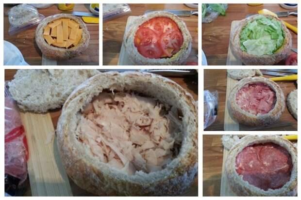 Многослойная прелесть для особо замороченных вкусно, еда, красота, многослойное, необычно, пироги. мясо
