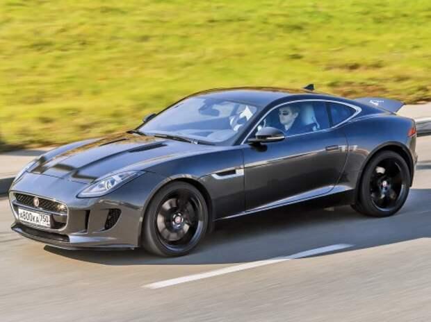 Тест Jaguar F-Type S Coupe: выехать из пяти секунд