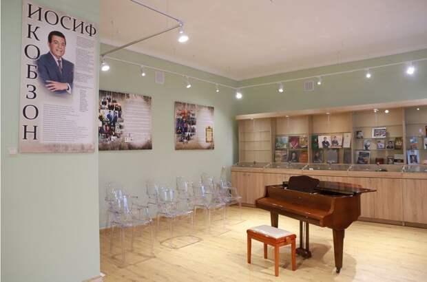 В институте на Ботанической открылся музей Иосифа Кобзона