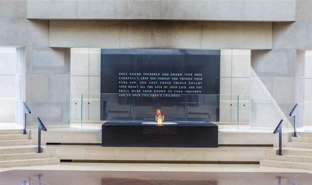 Мемориал жертвам Холокоста. Иллюстрация