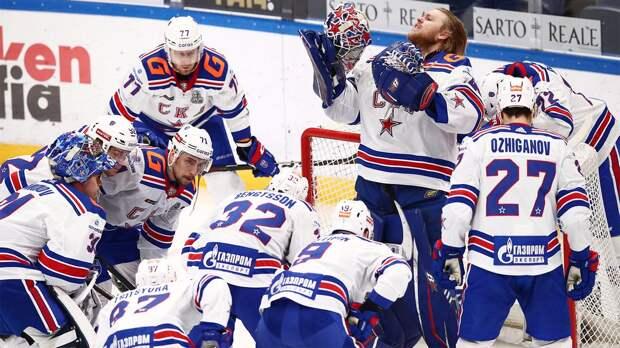 СКА обыграл «Динамо» в Москве и повел в серии 2-1