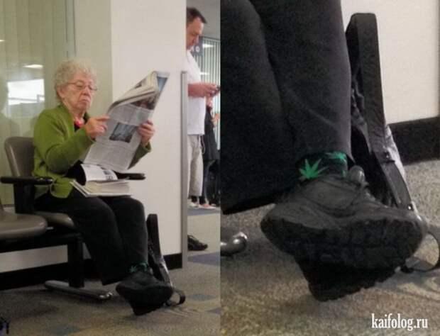 Прикольные бабки и деды (55 фото)