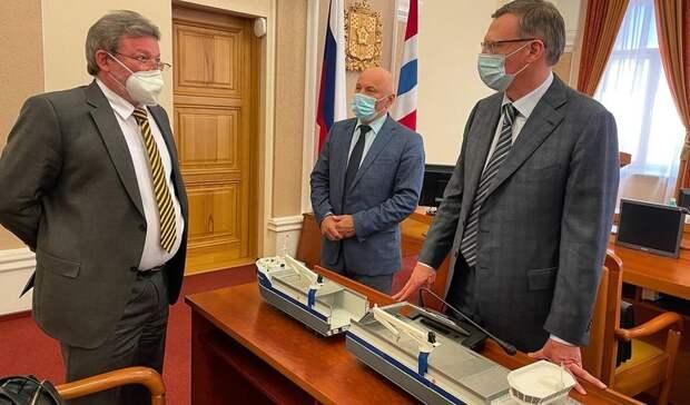 Александр Бурков озвучил планы по развитию судоходства в Омской области
