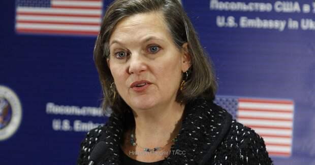 О визите госсекретаря США Виктории Нуланд в Киев