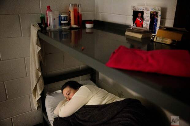Портреты отчаяния: Женщины-заключенные тюрьмы округа Кэмпбелл